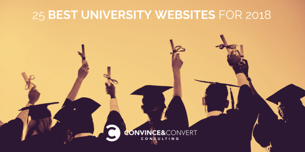 Best University Websites of 2018