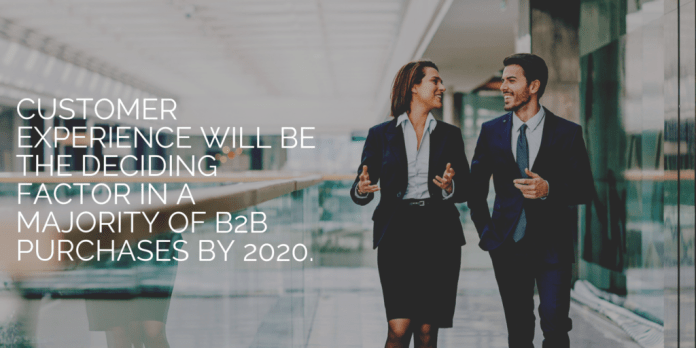 Customer Experience Deciding Factor B2B Purchases 2020