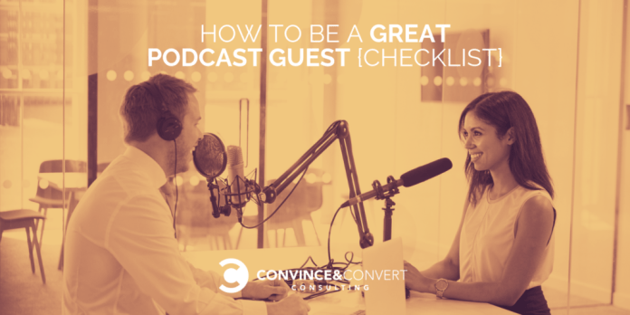 How to be a Great Podcast Guest {Checklist}