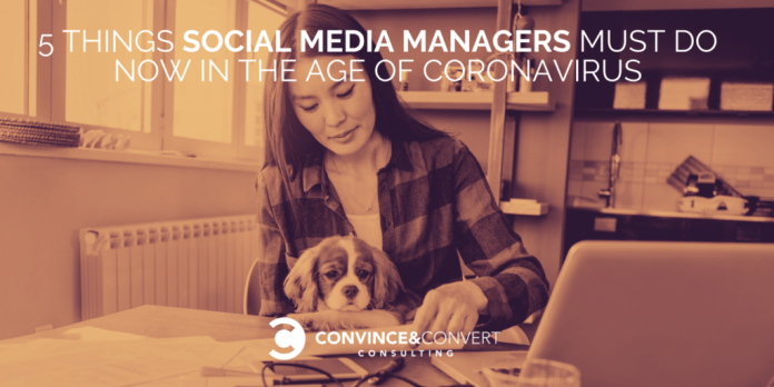 Social Media Manager - Coronavirus