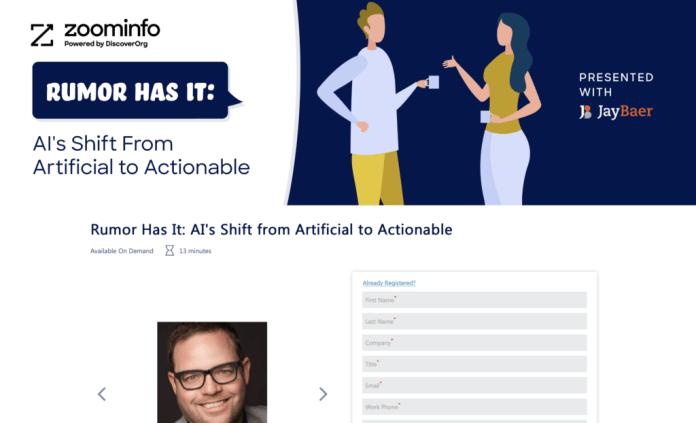 Example of a short webinar