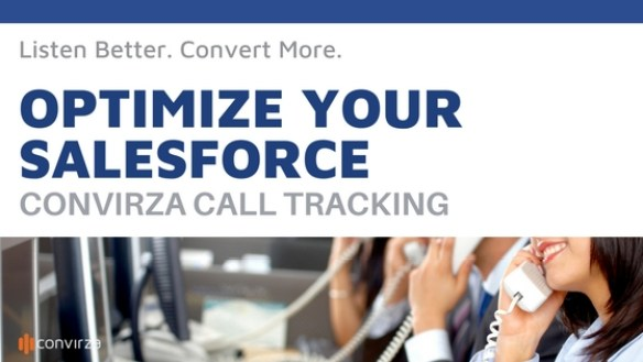 optimize your salesforce with Convirza call tracking