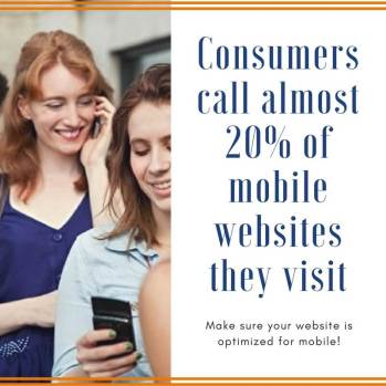 Mobile conversions make sure your website is mobile optimized