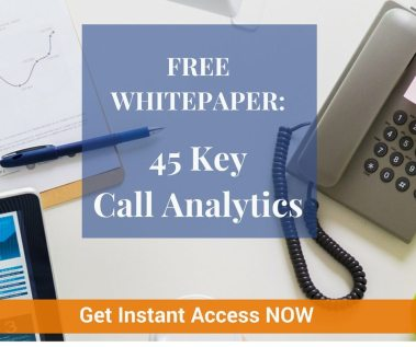 advanced call tracking metrics and Call analytics you should get from every phone call
