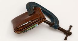 Geldbörse Steuern Schulden
