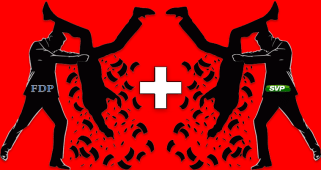 FDP SVP Partei Logo