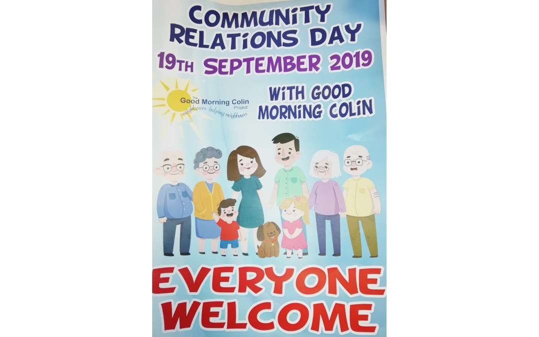 Upcoming Community Relations Day, Cloona Park, Dunmurry