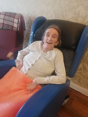 The Cottage Care Home enjoys seated exercises! July, 2020)