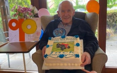 Jack celebrates his 90th Birthday!
