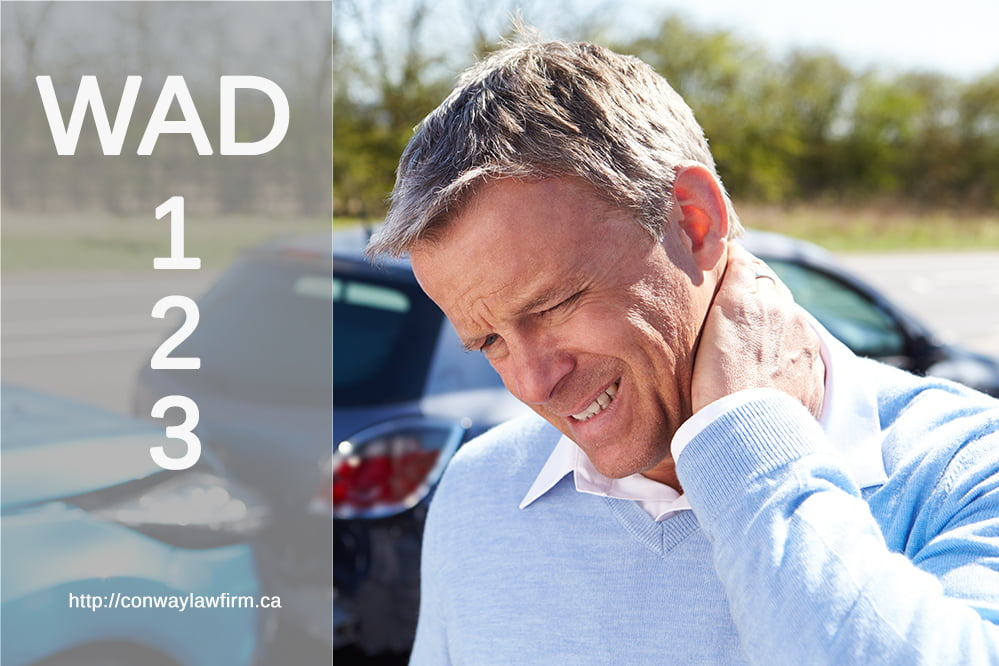What do they mean by WAD 1, 2 and 3? Cap and Injuries in Alberta