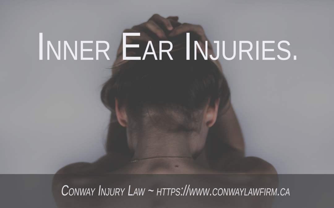 Inner Ear Problems (Vestibular Dysfunction) Following a Motor Vehicle Accident