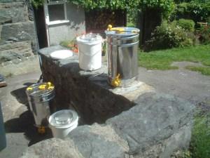 CBKA honey extracting equipment
