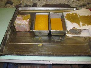 3. Blocks of beeswax