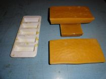 Large beeswax blocks