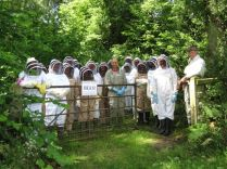 Apiary meeting at Tal y Cafn