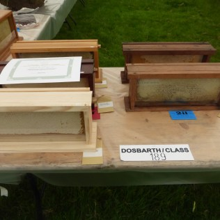 frames of honey for extracting