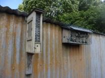 """Nurturing Nature"" bee box on left"