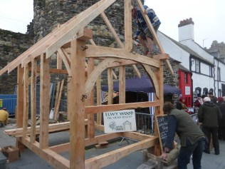 Timber frame building
