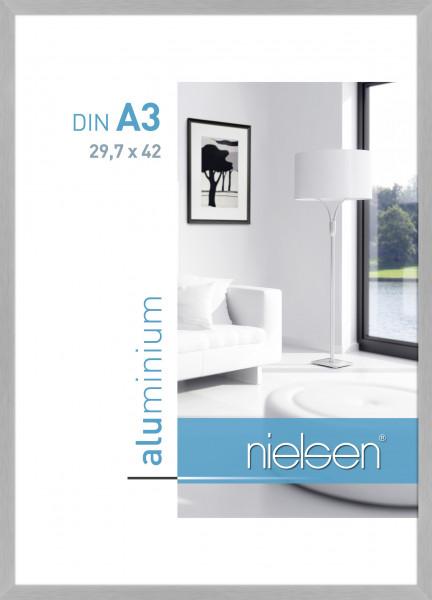 Nielsen C2 Alu Bilderrahmen 297x42 Cm Din A3 Struktur Silber Matt