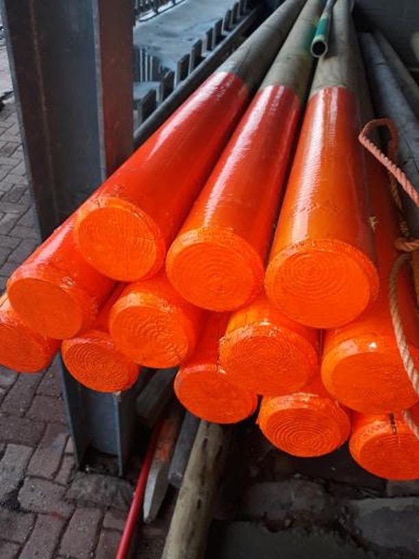 Fluorescent Paint Orange 500ml Coo Var