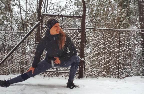 Aufwärmen – Laufen in der Kälte