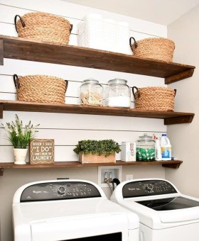 Genius Laundry Room Storage Organization Ideas 30