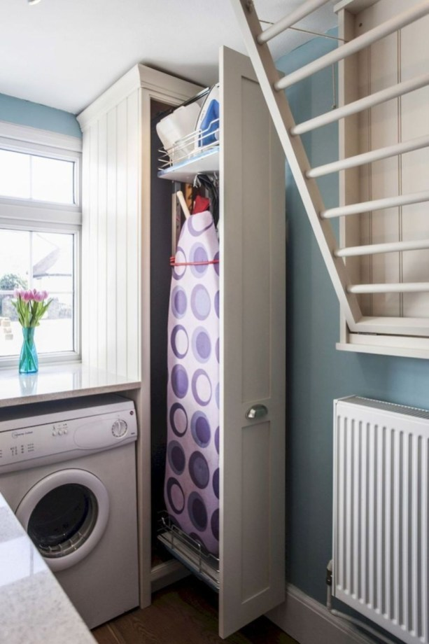 Genius Laundry Room Storage Organization Ideas 54