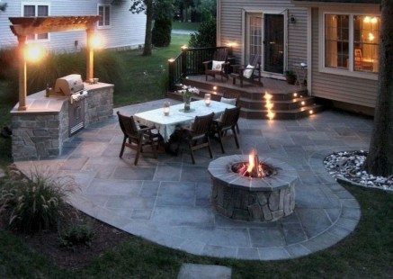 Amazing Backyard Seating Design Ideas 29