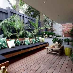 Amazing Backyard Seating Design Ideas 34