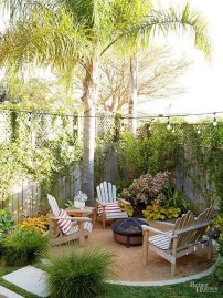 Amazing Backyard Seating Design Ideas 40