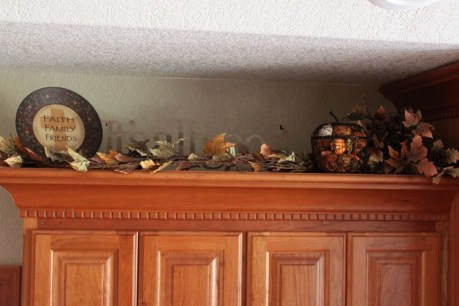 Awesome Decorating Above Kitchen Cabinets 44