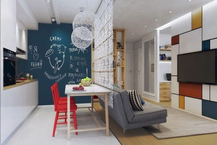 Beautiful Modern Small Apartment Design Ideas 18