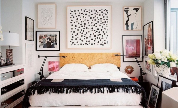 Cozy Gallery Wall Decor Ideas For Bedroom 51