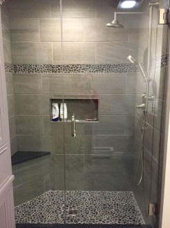 Creative Master Bathroom Shower Remodel Ideas 04