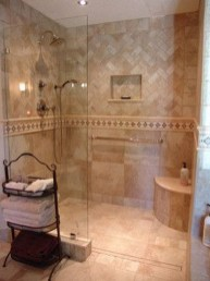 Creative Master Bathroom Shower Remodel Ideas 10