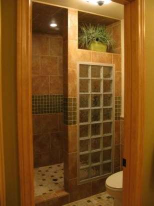 Creative Master Bathroom Shower Remodel Ideas 35