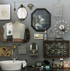 Lovely Eclectic Bathroom Ideas 19
