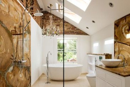 Lovely Eclectic Bathroom Ideas 43