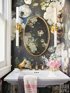 Lovely Eclectic Bathroom Ideas 46