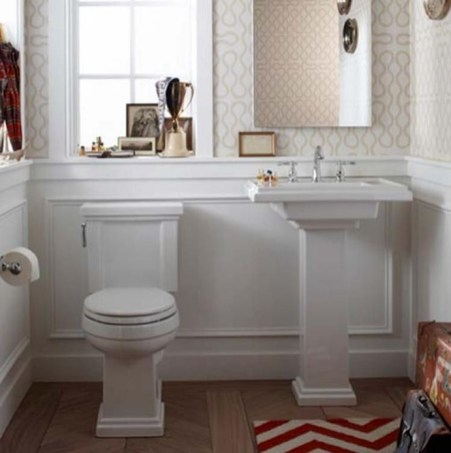 Lovely Eclectic Bathroom Ideas 50