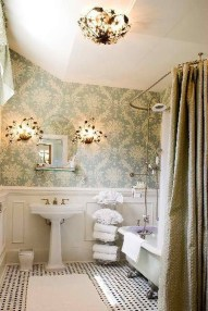 Stunning Vintage Bathroom Decor Ideas Trends 2018 02
