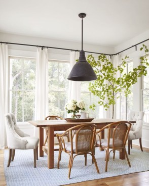 Stylish Beautiful Dining Room Design Ideas 23