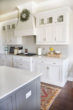 Cute Farmhouse Kitchen Backsplash Ideas 25