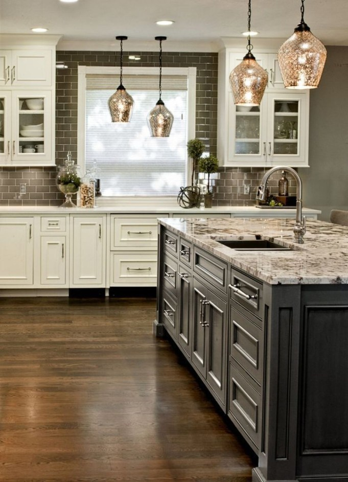 Cute Farmhouse Kitchen Backsplash Ideas 46