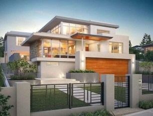 Lovely Modern House Design Ideas 02
