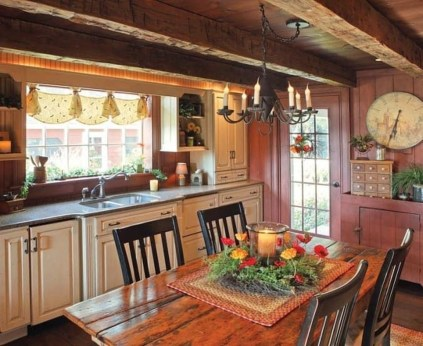 Magnificient Rustic Country Kitchen Ideas To Renew Your Ordinary Kitchen 45