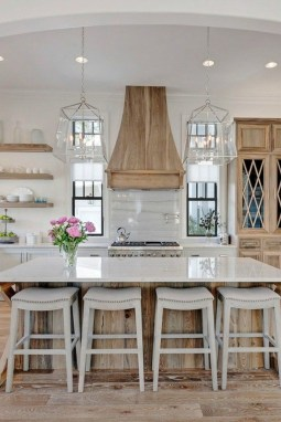 Stunning Farmhouse Kitchen Color Ideas 09