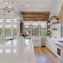 Stunning Farmhouse Kitchen Color Ideas 11