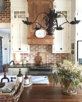 Unique Farmhouse Lighting Kitchen Ideas 10