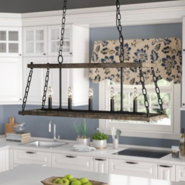 Unique Farmhouse Lighting Kitchen Ideas 28